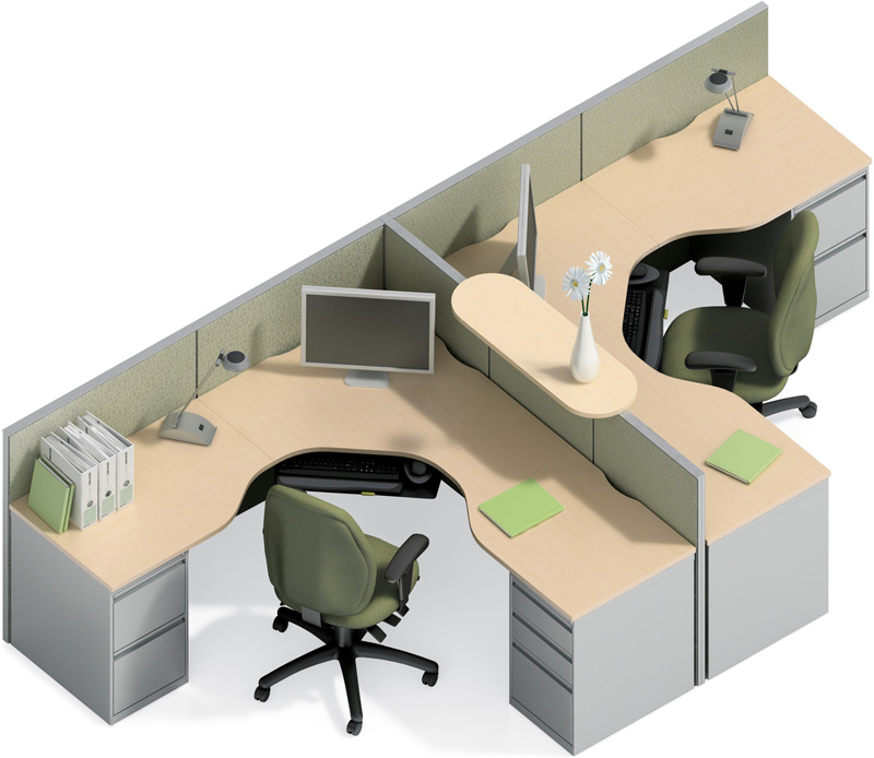 used office cubicles - Office Cubicles