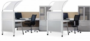 3x2 Cubicle Workstation