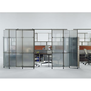office glass partition furniture from rof