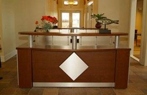 salon reception desk - Salon Reception Desk