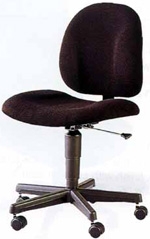 Armless Office Chair from ROF