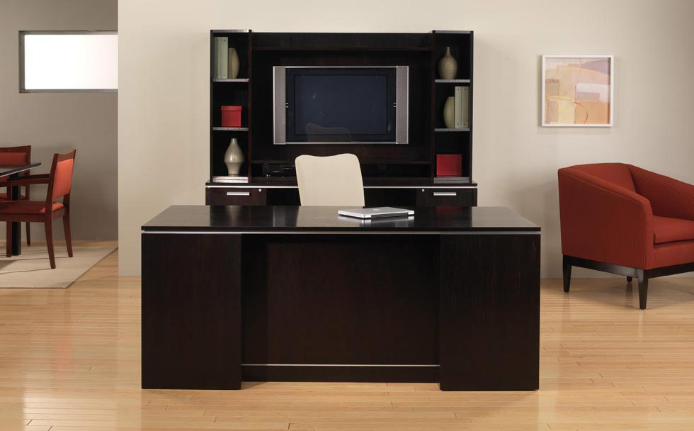 Black Desk Options Available At Rof