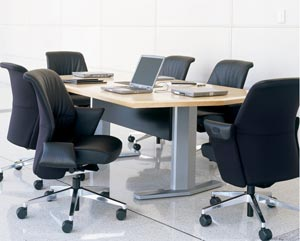 Contemporary Conference Room Chairs from Refurbished Office Furniture