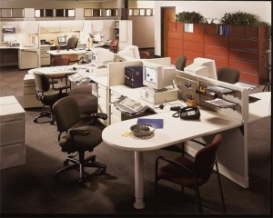 Used Office Cubicles For Businesses Nationwide From Refurbished Office Apps