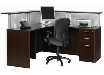 Espresso Secretary Desks