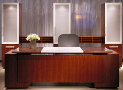 Executive Steelcase Desk