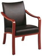Leather Reception Chairs At Affordable Prices From Refurbished Office Furniture