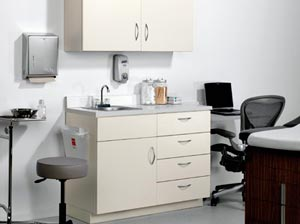 medical cabinetry for doctor's offices and hospitals nationwide