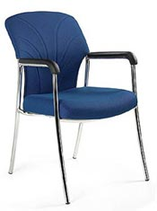 Metal Executive Side Chairs Offer Modern Style for Offices Coast ...