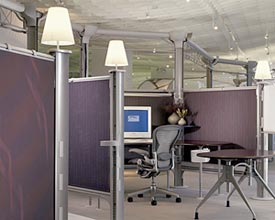 Modern office cubicles Office Room Refurbished Office Furniture Modern Office Cubicles For Stylish And Contemporary Offices Nationwide