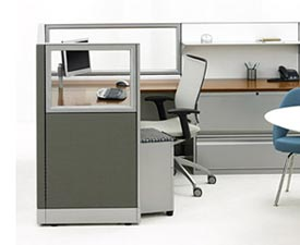New Gray Office Cubicles