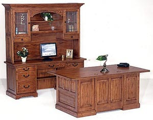 Choose Oak Desk Credenzas from ROF for Unmatched Style Coast to Coast