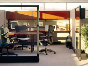 Salesroom Cubicles from ROF Furniture