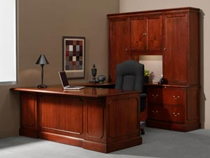 Traditional Executive Desks from ROF Provide Classic ...