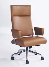 Used Brown Executive Leather Chairs From Refurbished Office Furniture