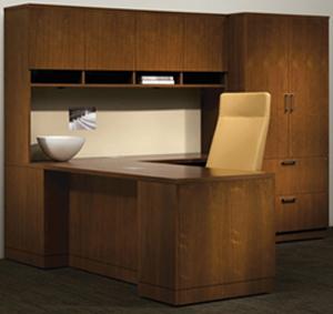 Used L S haped Reception Desks