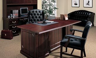 used executive desks provide cost efficient style and
