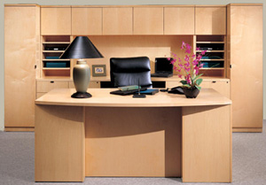 wood office furniture from rof