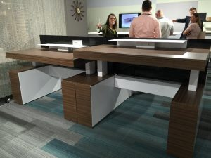 Adjustable Height Desk 2