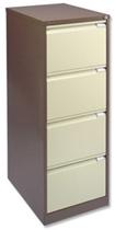 Cream and Maple File Cabinet