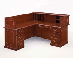 Traditional Reception Desks